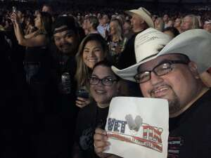 Carlos attended Jason Aldean: Back in the Saddle Tour 2021 on Sep 10th 2021 via VetTix