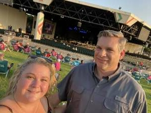 Ridgway's attended Jason Aldean: Back in the Saddle Tour 2021 on Sep 10th 2021 via VetTix