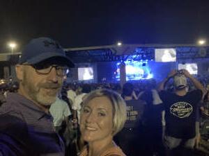 Trent Arnold attended Jason Aldean: Back in the Saddle Tour 2021 on Sep 10th 2021 via VetTix