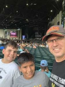 Kenny G attended Jason Aldean: Back in the Saddle Tour 2021 on Sep 10th 2021 via VetTix