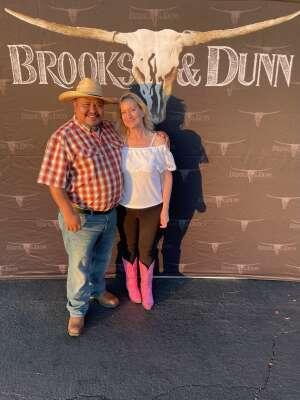 Corissa attended Brooks & Dunn Reboot 2021 Tour on Sep 18th 2021 via VetTix
