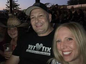 Bill.  USN attended Brooks & Dunn Reboot 2021 Tour on Sep 18th 2021 via VetTix