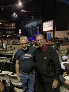 Bernie attended Brooks & Dunn Reboot 2021 Tour on Sep 18th 2021 via VetTix