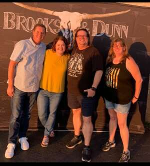 Brett Grant attended Brooks & Dunn Reboot 2021 Tour on Sep 18th 2021 via VetTix