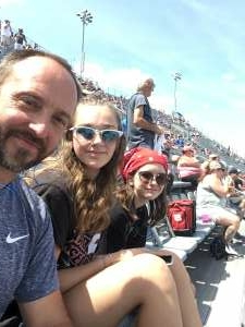 Sandra attended Cookout Southern 500 - NASCAR Cup Series - Doubleheader on Sep 5th 2021 via VetTix