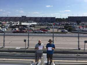 Steve attended Cookout Southern 500 - NASCAR Cup Series - Doubleheader on Sep 5th 2021 via VetTix