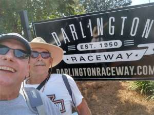 Keith C. Dawson CSM(RET) attended Cookout Southern 500 - NASCAR Cup Series - Doubleheader on Sep 5th 2021 via VetTix
