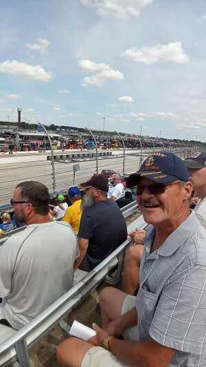 USN-Ret. attended Cookout Southern 500 - NASCAR Cup Series - Doubleheader on Sep 5th 2021 via VetTix
