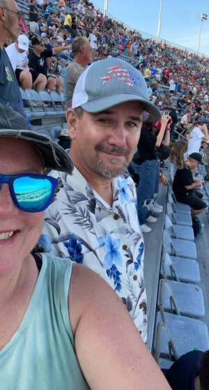 Nay28 attended Cookout Southern 500 - NASCAR Cup Series - Doubleheader on Sep 5th 2021 via VetTix