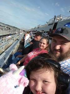 James attended Cookout Southern 500 - NASCAR Cup Series - Doubleheader on Sep 5th 2021 via VetTix