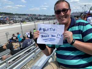 John H attended Cookout Southern 500 - NASCAR Cup Series - Doubleheader on Sep 5th 2021 via VetTix