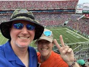 Will attended University of South Florida Bulls vs. Florida Gators - NCAA Football on Sep 11th 2021 via VetTix