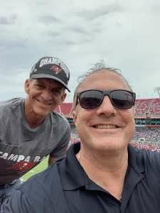 Mark Elliman attended University of South Florida Bulls vs. Florida Gators - NCAA Football on Sep 11th 2021 via VetTix