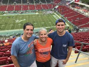 Bryant Klohr attended University of South Florida Bulls vs. Florida Gators - NCAA Football on Sep 11th 2021 via VetTix