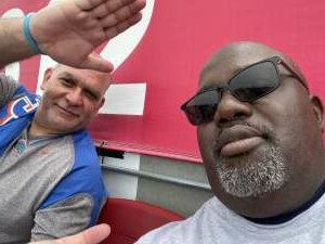 Clarence Warren attended University of South Florida Bulls vs. Florida Gators - NCAA Football on Sep 11th 2021 via VetTix