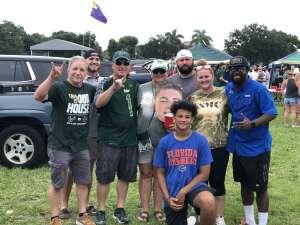 Christene Cruz attended University of South Florida Bulls vs. Florida Gators - NCAA Football on Sep 11th 2021 via VetTix