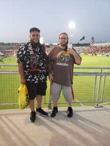 JD attended San Antonio FC vs. Pittsburgh Riverhounds SC - USL Championship League on Sep 4th 2021 via VetTix
