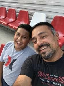 Juan attended San Antonio FC vs. Pittsburgh Riverhounds SC - USL Championship League on Sep 4th 2021 via VetTix