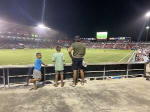 Nate attended San Antonio FC vs. Pittsburgh Riverhounds SC - USL Championship League on Sep 4th 2021 via VetTix