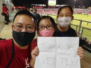 Richard Chen attended San Antonio FC vs. Pittsburgh Riverhounds SC - USL Championship League on Sep 4th 2021 via VetTix