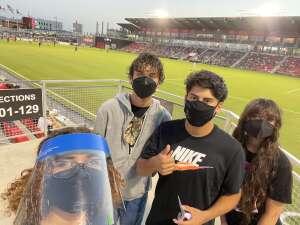 Jbozik attended San Antonio FC vs. Pittsburgh Riverhounds SC - USL Championship League on Sep 4th 2021 via VetTix
