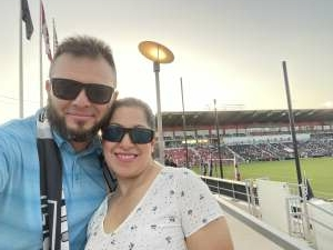 SGT Sal attended San Antonio FC vs. Pittsburgh Riverhounds SC - USL Championship League on Sep 4th 2021 via VetTix