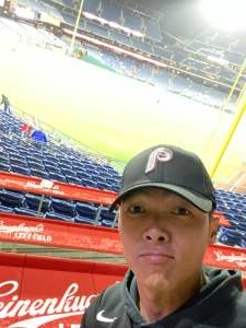 Mike P.  attended Philadelphia Phillies vs. Pittsburgh Pirates - MLB on Sep 23rd 2021 via VetTix