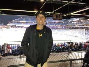 Julia  attended Philadelphia Phillies vs. Pittsburgh Pirates - MLB on Sep 23rd 2021 via VetTix