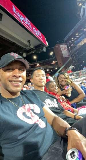 Courtney  Head attended Philadelphia Phillies vs. Pittsburgh Pirates - MLB on Sep 23rd 2021 via VetTix