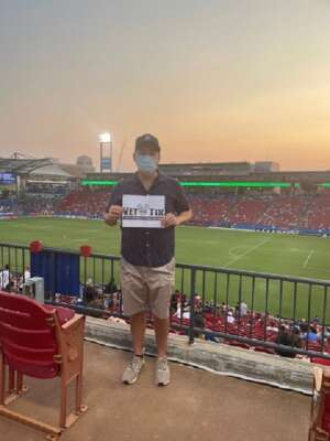 Very Grateful  attended FC Dallas vs. San Jose Earthquakes - MLS - Military and 1st Responder Appreciation Game (see Notes) on Sep 11th 2021 via VetTix
