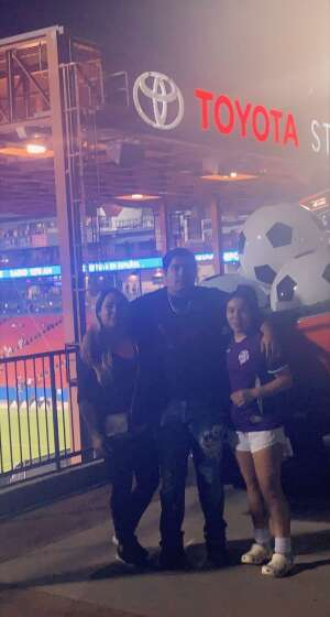 Eric attended FC Dallas vs. San Jose Earthquakes - MLS - Military and 1st Responder Appreciation Game (see Notes) on Sep 11th 2021 via VetTix