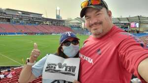 Carlos attended FC Dallas vs. San Jose Earthquakes - MLS - Military and 1st Responder Appreciation Game (see Notes) on Sep 11th 2021 via VetTix