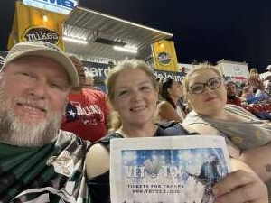Roger Elkins attended FC Dallas vs. San Jose Earthquakes - MLS - Military and 1st Responder Appreciation Game (see Notes) on Sep 11th 2021 via VetTix