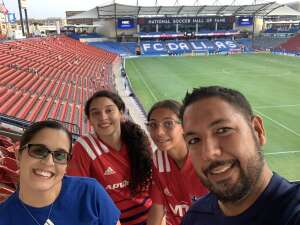 FRR attended FC Dallas vs. San Jose Earthquakes - MLS - Military and 1st Responder Appreciation Game (see Notes) on Sep 11th 2021 via VetTix