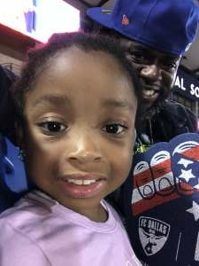 Nyah  attended FC Dallas vs. San Jose Earthquakes - MLS - Military and 1st Responder Appreciation Game (see Notes) on Sep 11th 2021 via VetTix