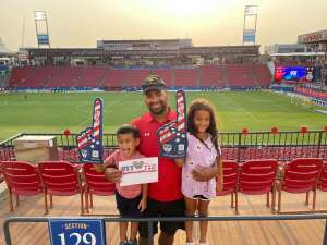 Click To Read More Feedback from FC Dallas vs. San Jose Earthquakes - MLS - Military and 1st Responder Appreciation Game (see Notes)