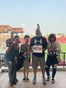 Corneal Hunter attended FC Dallas vs. San Jose Earthquakes - MLS - Military and 1st Responder Appreciation Game (see Notes) on Sep 11th 2021 via VetTix