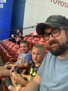 Dusty Mayer attended FC Dallas vs. San Jose Earthquakes - MLS - Military and 1st Responder Appreciation Game (see Notes) on Sep 11th 2021 via VetTix