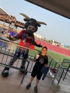 Venegas attended FC Dallas vs. San Jose Earthquakes - MLS - Military and 1st Responder Appreciation Game (see Notes) on Sep 11th 2021 via VetTix