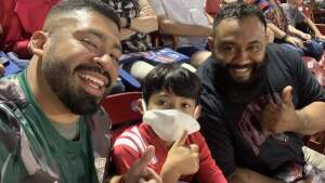 Luis Reyes attended FC Dallas vs. San Jose Earthquakes - MLS - Military and 1st Responder Appreciation Game (see Notes) on Sep 11th 2021 via VetTix