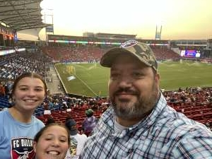 Paul Wood attended FC Dallas vs. San Jose Earthquakes - MLS - Military and 1st Responder Appreciation Game (see Notes) on Sep 11th 2021 via VetTix