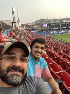 Jose attended FC Dallas vs. San Jose Earthquakes - MLS - Military and 1st Responder Appreciation Game (see Notes) on Sep 11th 2021 via VetTix