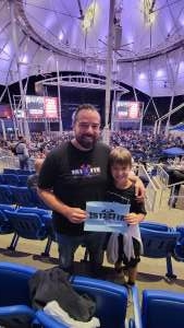 JeffM attended The World's Greatest Pink Floyd Show -brit Floyd - World Tour 2021 on Sep 9th 2021 via VetTix