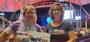 Marianne Stone  attended The World's Greatest Pink Floyd Show -brit Floyd - World Tour 2021 on Sep 9th 2021 via VetTix