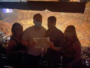 WG1833 attended Blake Shelton: Friends and Heroes 2021 on Sep 9th 2021 via VetTix