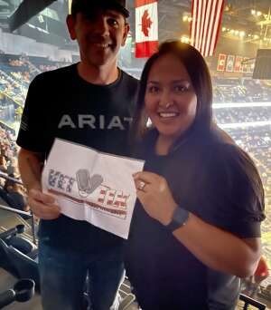 Jeremy attended Blake Shelton: Friends and Heroes 2021 on Sep 9th 2021 via VetTix
