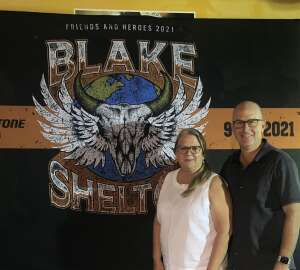 Chris A. attended Blake Shelton: Friends and Heroes 2021 on Sep 9th 2021 via VetTix