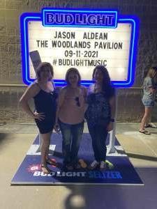 Martin attended Jason Aldean: Back in the Saddle Tour 2021 on Sep 11th 2021 via VetTix