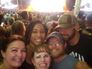 India attended Jason Aldean: Back in the Saddle Tour 2021 on Sep 11th 2021 via VetTix