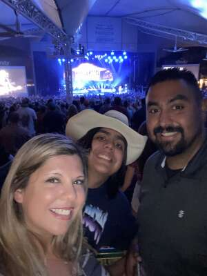 Claudia Zarate attended Jason Aldean: Back in the Saddle Tour 2021 on Sep 11th 2021 via VetTix